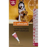Advocate Dogs 22-55lbs (10-25kg) - 1 Pack