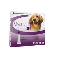 Vectra 3D Purple for Large Dogs 56-95 lbs (25-40 kg)  - 3 Doses