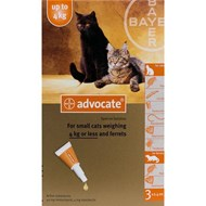 Advantage Multi (Advocate) Cats Under 8.8lbs (4kg) - 1 Pack