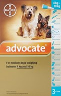 Advocate Dogs 8.8-22lbs (4-10kg) - 3 Pack