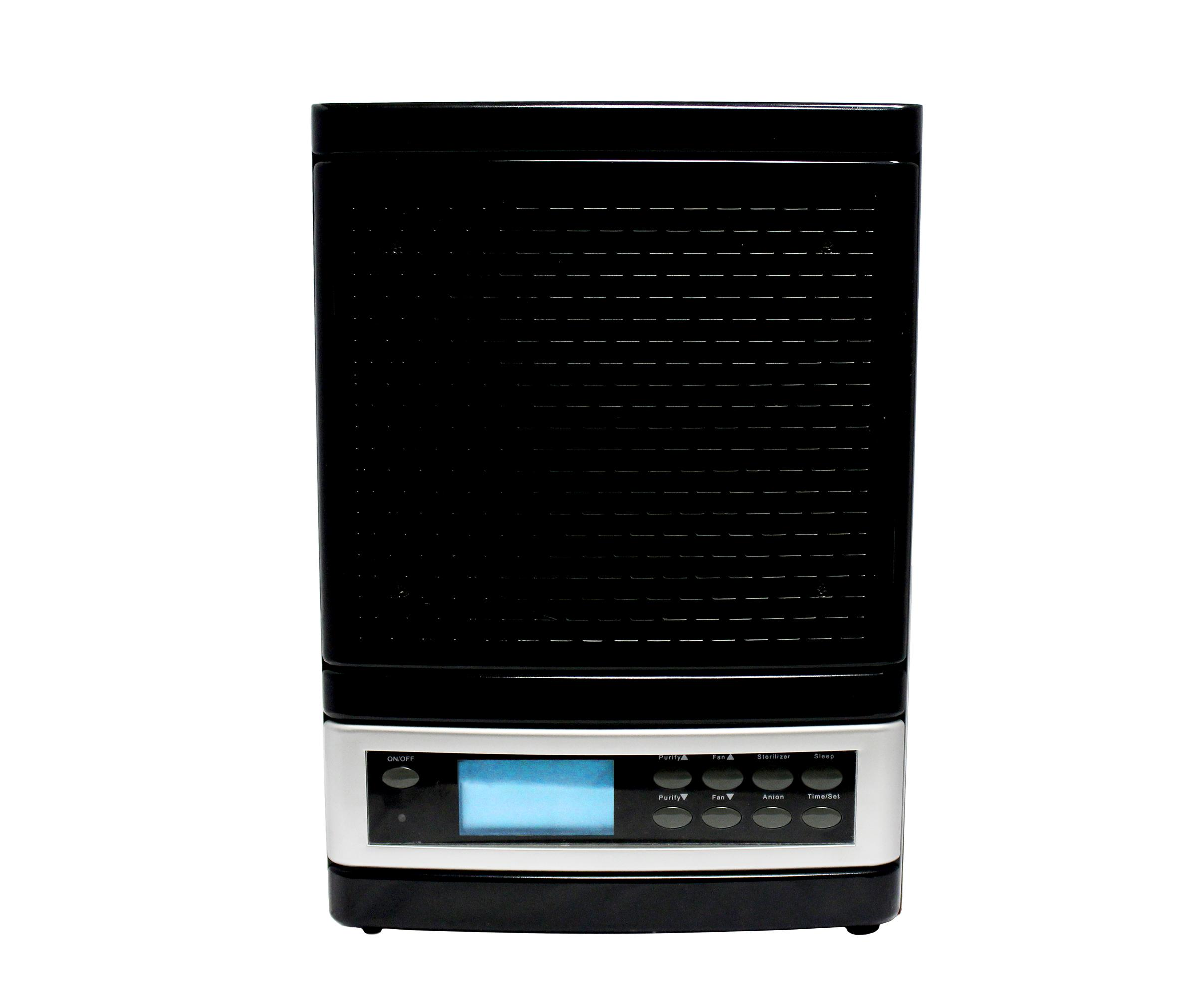 Latest Black Atlas Ionic Ozone Air Purifier With Remote