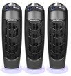 Three Ionic Atlas UV Electrostatic Carbon Filter Air Purifiers