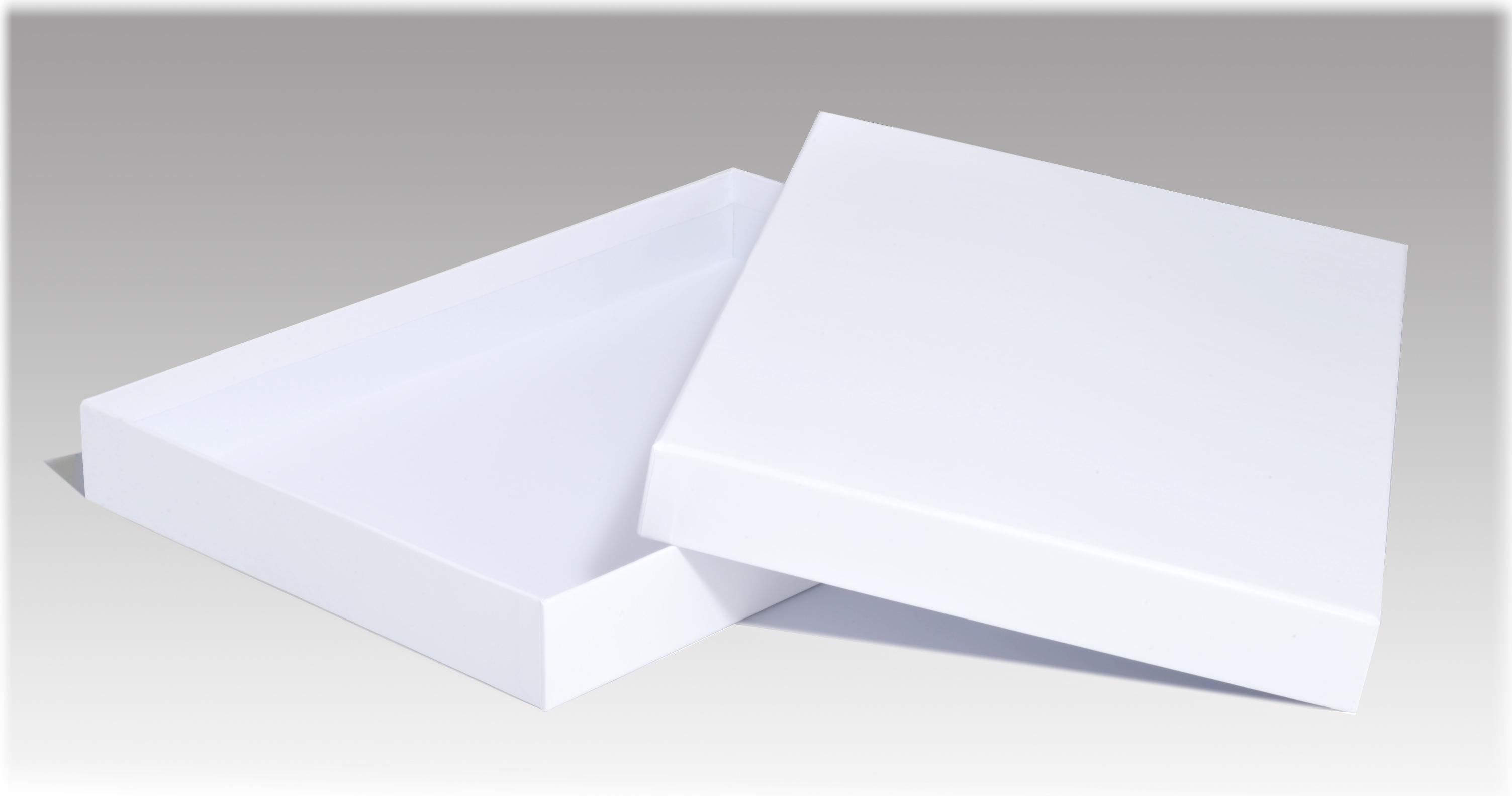Luxury White Matt Laminated A4 Gift Box 310 X 215 X 35mm