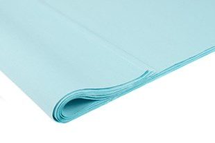 Recycled Azure Blue Tissue Paper   240 Sheets   Large