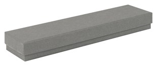 Kraft Grey Recycled Bracelet / watch box 203 x 51 x 23 mm (KCGR43)