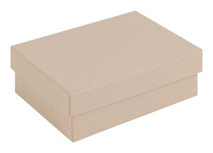 Kraft Natural Medium Sized Gift Box - 95 x 70 x 32mm (KR8)