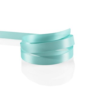 Ocean Blue Satin Ribbon 10mm | Double Faced Satin Collection