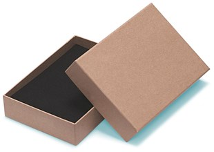 Natural A6 box 165 mm x 116 mm x 35mm  (A6)   (WPA6KR)
