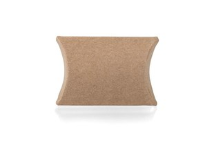 Small Kraft Pillow Box 50 x 45 x 10mm (PILKRSM)