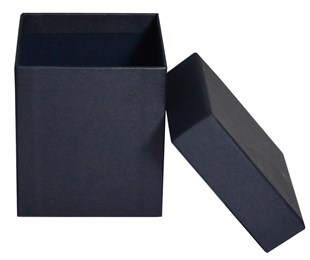 Luxury Matt Black Candle Box 85 x 85 x 95mm (MMBL85)