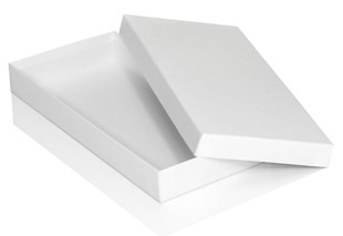 White Luxury Glove Box 250 x 120 x 30mm (MMGLWH)