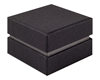 Shoulder Box Collection | Ring Jewellery Box Black & Grey