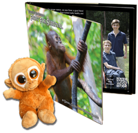 Fight for Survival and Baby Orangutan