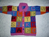 Monogramed Crossword Jacket