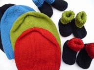Gift Beanie and Bootee Set Boys 2