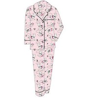 Vikki James Ballet Cow Flannelette Pyjamas