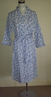 French Country Cotton Dressing Gown FCL155