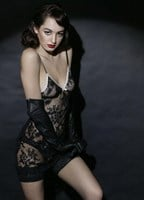 Elegantly Scant Audrey Lace  Chemise with free brief