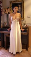 Mia Lingerie Glamour Long Satin Nightgown G20