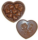 Chocolate Heart Box filled with Hearts