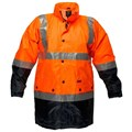 Safety Jacket with mesh lining & 3M tape