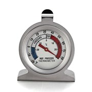 Fridge Freezer Kitchen Thermometer Stainless Steel
