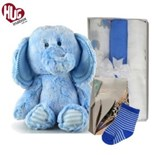 Elephant Snuggles New Baby Boy Hamper Hugs