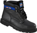 S1P - HRO - SRA - ProMan Leather Safety Boot with Steel Toecap - Black - Conforms to EN20345:2011 S1P HRO SRA - RF-PM9401A
