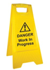 Tilers Pavement Signs