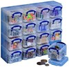 Plastic Clear Really Useful 0.14 litre Organiser Pack - UB-OPB014