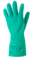 Alphatec Solvex - Nitrile - Food Safe - Classic Sol-Vex Food Safe Gloves - Conforms to EN388 (4101X) and EN ISO 374: JKLOPT  - Pair - AN-37-675