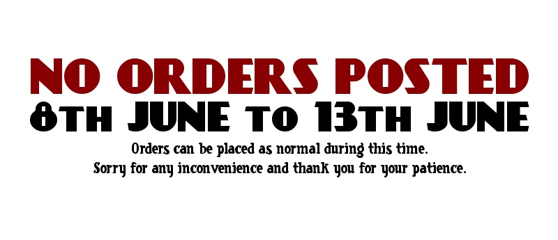 No Orders Posted 8th June to 13th June