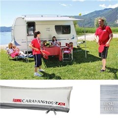 Fiamma Caravanstore XL 550 awning - Royal Blue canopy