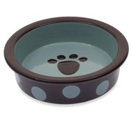 Sassy Too (Shallow) Ceramic Pet Bowl