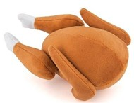 Holiday Classic Roast Turkey Dog Toy
