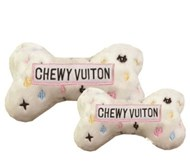 Chewy Vuiton White Bone Designer Toy