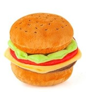 American Classic Barky Burger Dog Toy