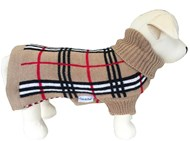 Knightsbridge Dog Sweater Wool (Beige)