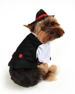 Gangster Suit Dog Costume