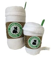 Starbarks White Lid Coffee Dog Toy