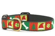 Christmas List Dog Collar