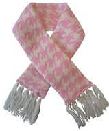 Houndstooth Pet Scarf (Pink/White)