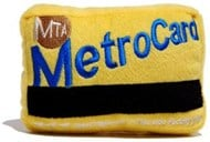 MTA Metro Card Dog Toy