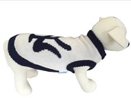 New York Dog Sweater (Navy/Cream)
