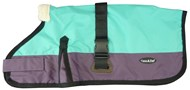 Waterproof Dog Coat 3009-B  Teal & Purple (For Big Dogs)