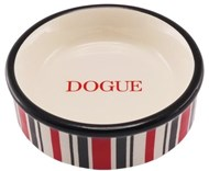 DOGUE Striped Cat/Puppy Bowl (RED)