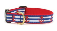 Anchor Aweigh Dog Collar