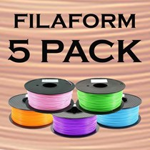 Filament 1.75mm ABS - Filaform 5 Pack