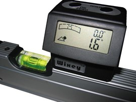 Digital Angle Gauge with level - Wixey