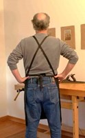 Black Woodworkers Apron by Hock Tools